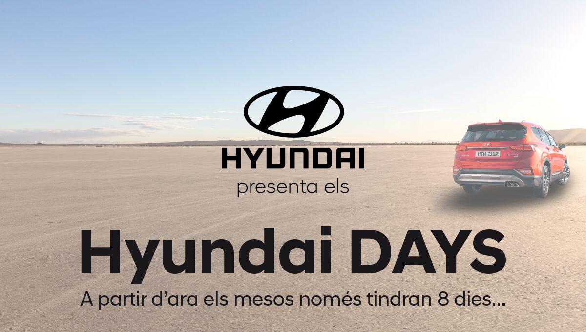 Millor que les rebaixes! Tornen els Hyundai Days d'Augusta Car