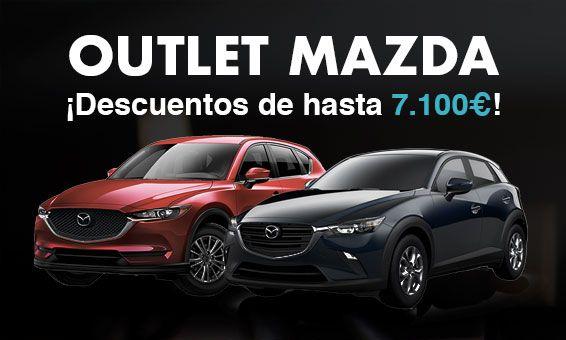 Outlet Mazda Kuroba Motor, ¡Hasta 7.100€ de descuento!