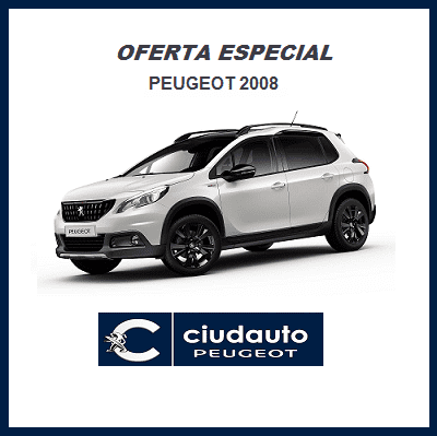 Peugeot 2008 Allure 1.6 BlueHDI 100 S&S €6.2 Blanco Nacarado