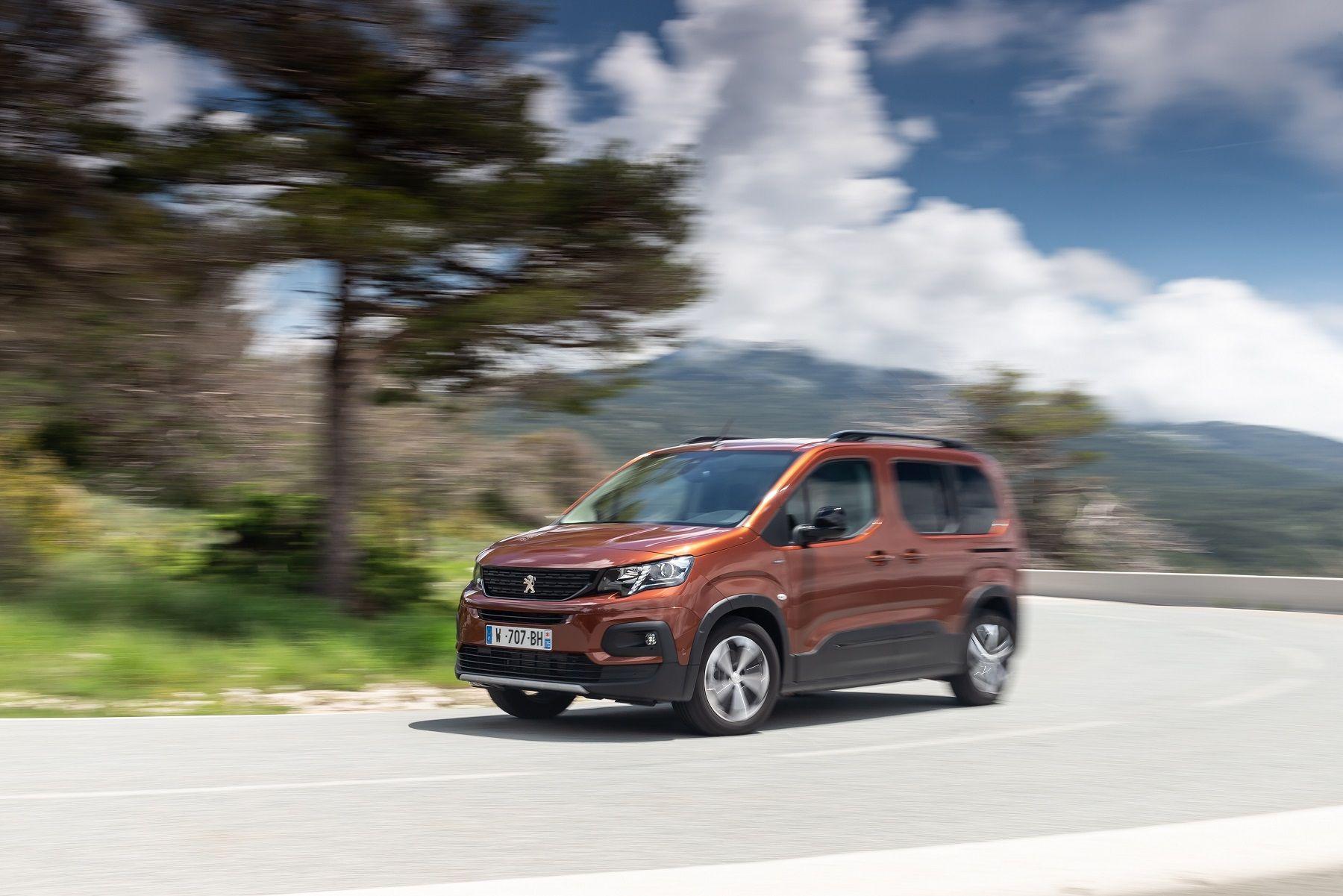 El Nuevo Peugeot Rifter, listo para entrar en acción en su primer invierno