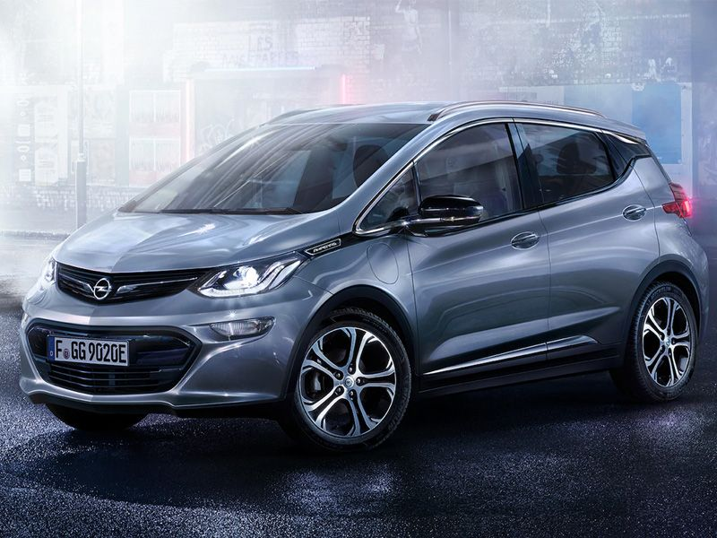 Modelo futuro Opel Ampera-E
