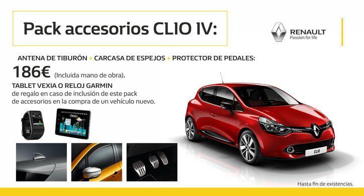 Pack de Accesorios Renault Clio IV