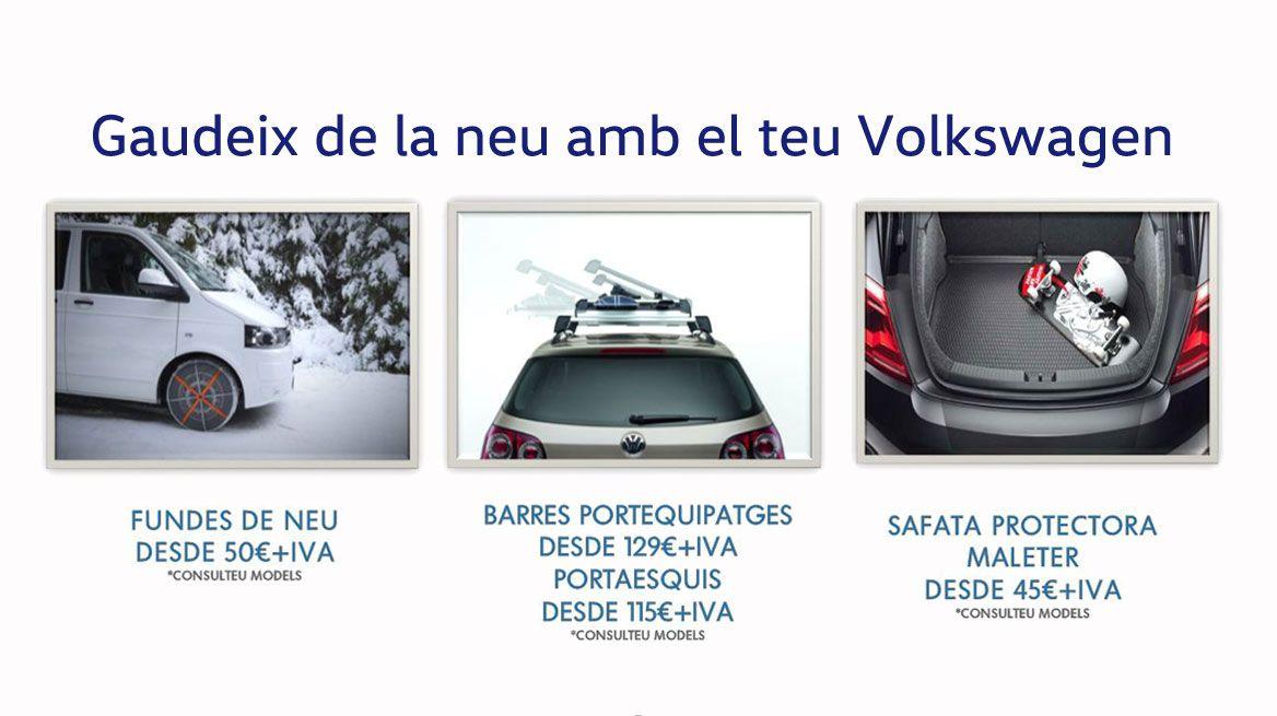 Disfruta del invierno con Volkswagen