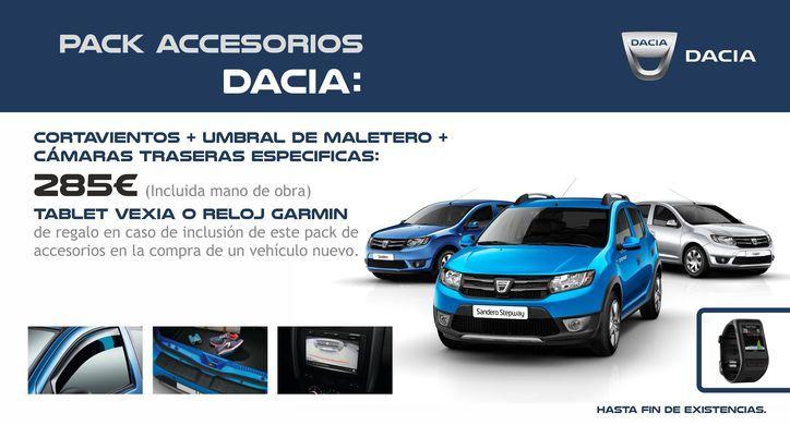 Pack Accesorios Dacia