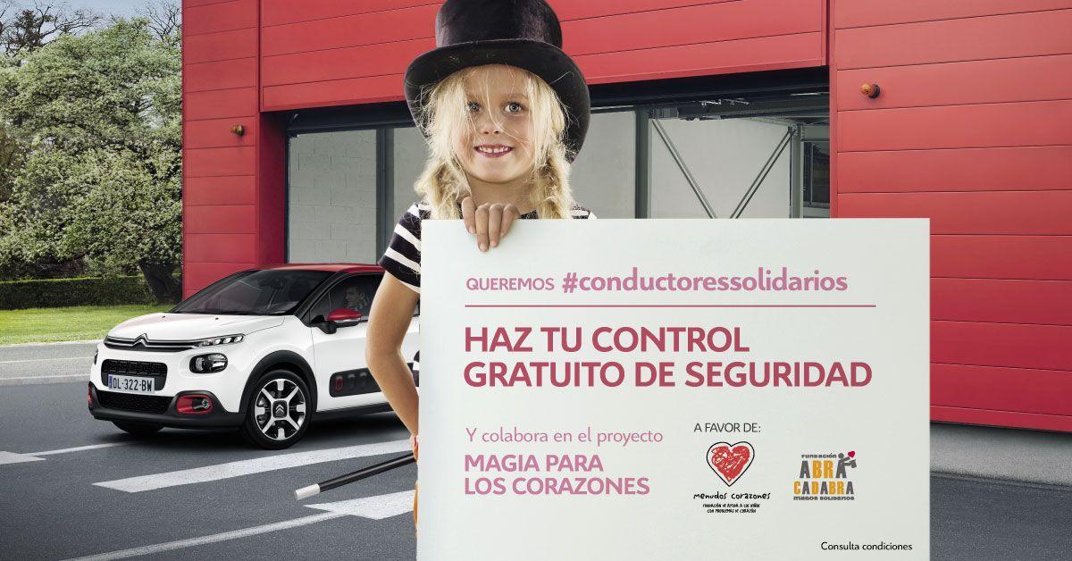 """CITROËN BUSCA #CONDUCTORESSOLIDARIOS, EN LA TERCERA EDICIÓN DEL PROYECTO SOLIDARIO """"MAGIA PARA LOS CORAZONES"""""""