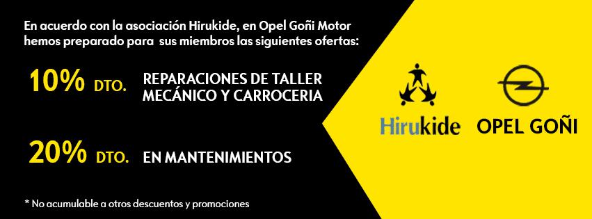 Hirukide y Opel Goñi  Motor