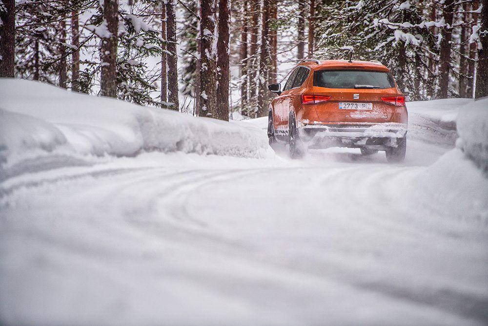 Te enseñamos como conducir sobre la nieve tu Nuevo SEAT