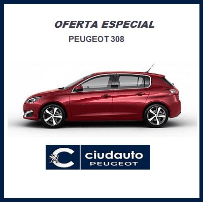 Peugeot 308 5P Allure BlueHDi 100 S&S 6 Vel. MAN €6.2 Rojo Ultimate