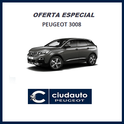 Peugeot 3008 Allure BlueHDi 130 S&S 6vel MAN €6.2 (Solo stock) Gris Amazonite