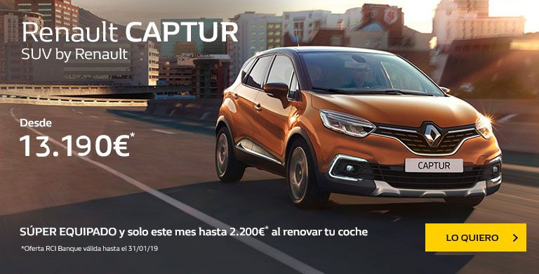 Renault CAPTUR hasta el 31/01
