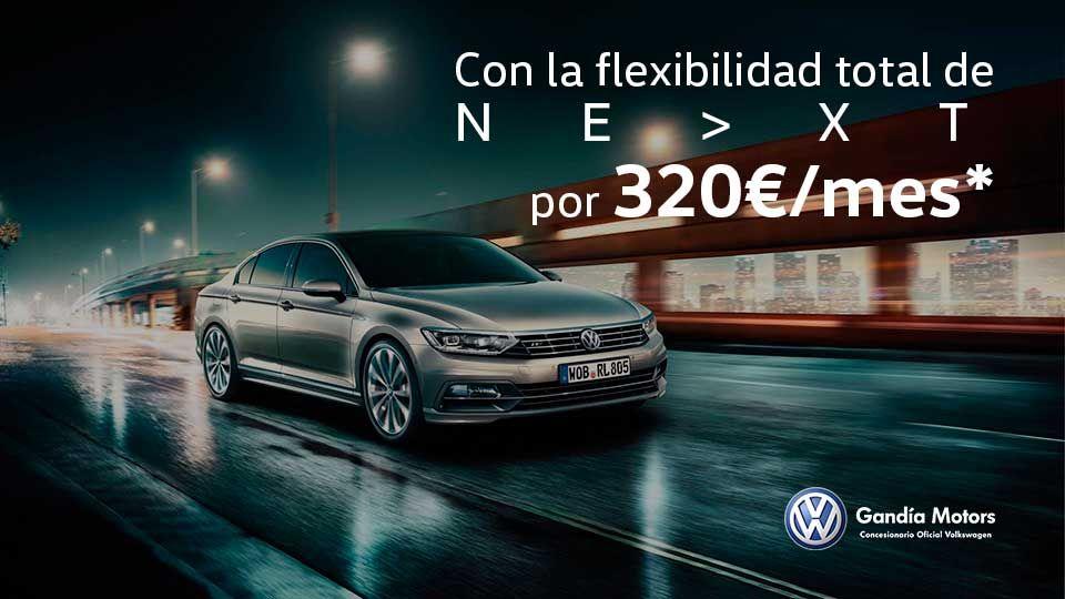 Passat: Elegancia y tecnología por 320€/mes