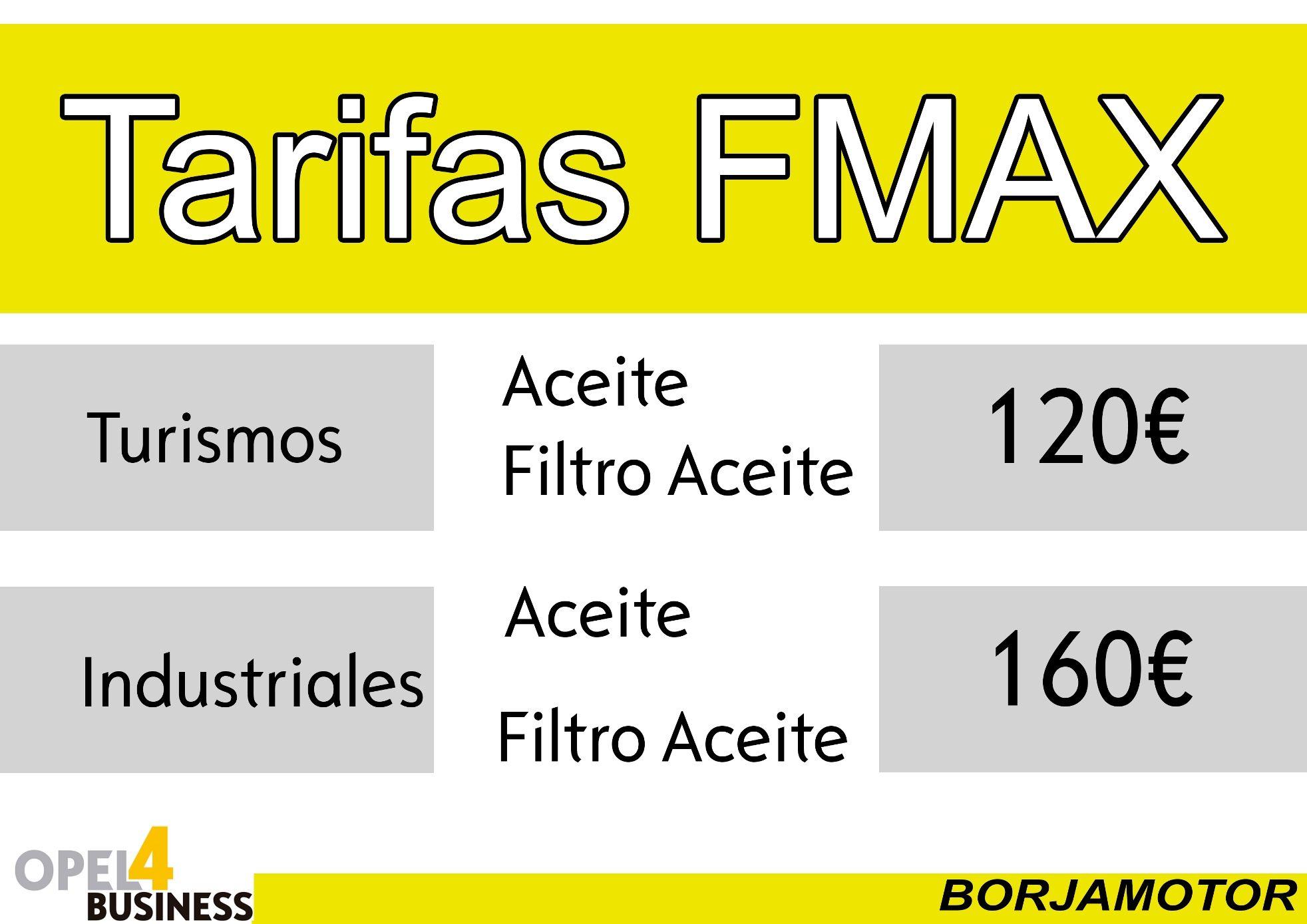 Precios FMax 2019