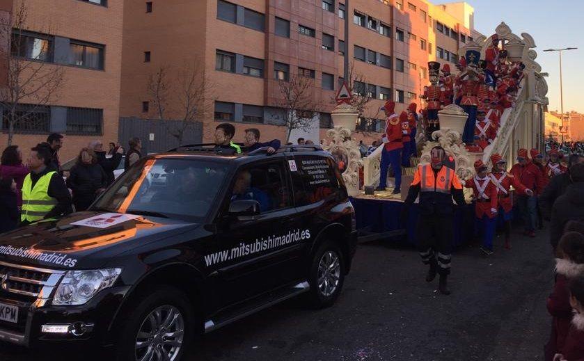 MITSUBISHI COLABORA CON LA CABALGATA DE REYES MAGOS EN SAN SEBASTIAN DE LOS REYES EN 2019