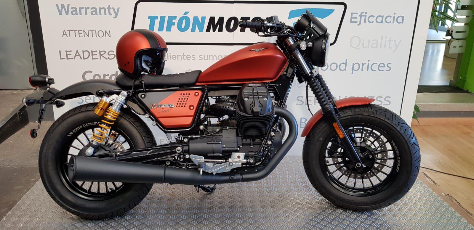 Llega a nuestras instalaciones la nueva Moto Guzzi V9 Bobber Sport
