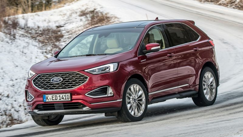Reach to the top! New Ford Edge Vignale #Pushyour limits?