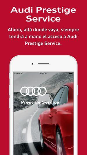 App Audi Prestige Service