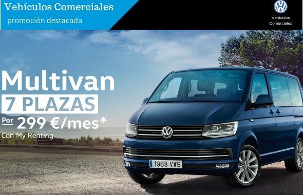Volkswagen Multivan por 299€/mes  #Eligetenerlotodo