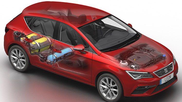 El nuevo SEAT León con tecnología híbrida de gas natural y gasolina, ya está disponible en la red comercial