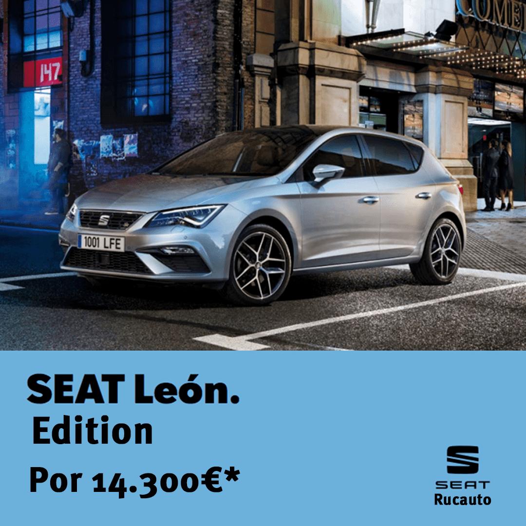 SEAT León Edition por 14.300 €*