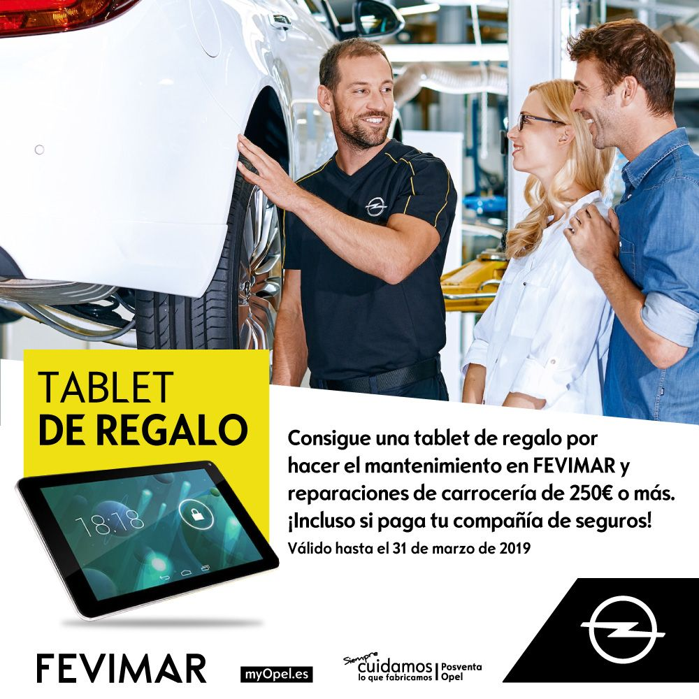 Llévate  una tablet de regalo