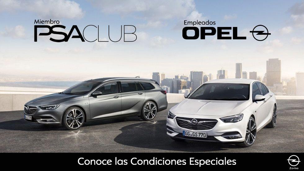 Condiciones especiales para empleados de Opel España y PSA Club