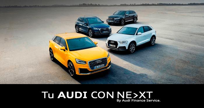 Comienza el año estrenando Audi
