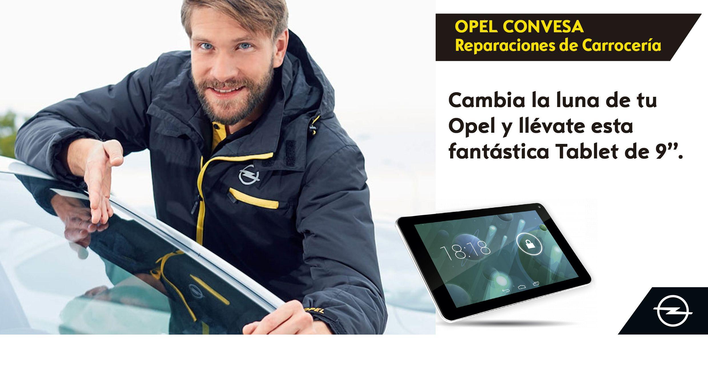 Cambia la luna de tu Opel y llévate REGALO SEGURO