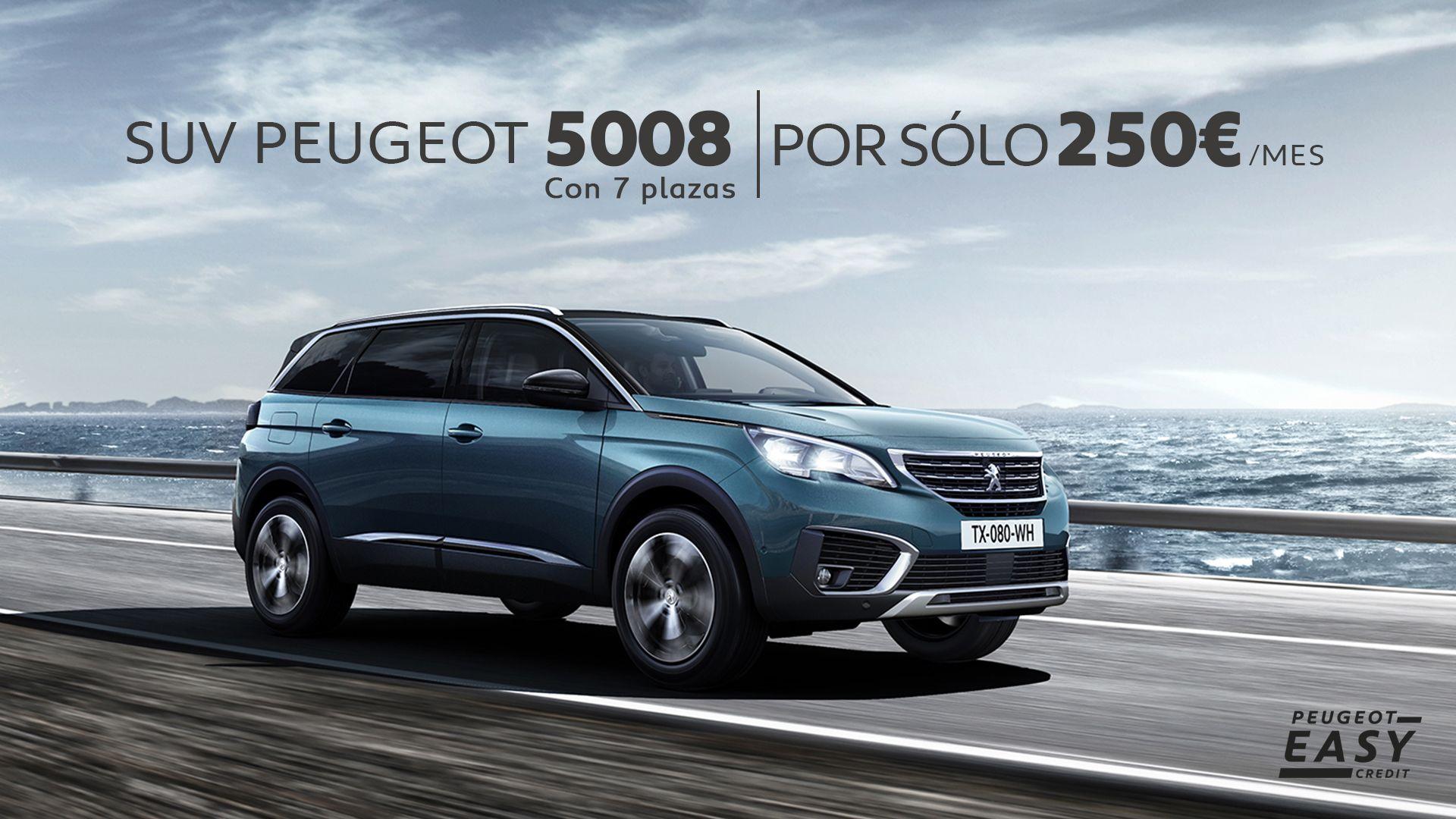 Llévate un SUV 5008 por 250€/mes