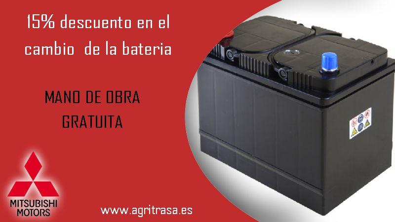 15% en el cambio de tu bateria