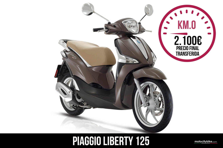 Piaggio Liberty 125 marrón