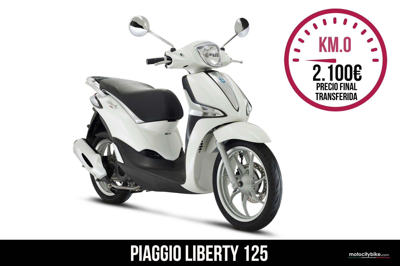 Piaggio Liberty 125 blanca