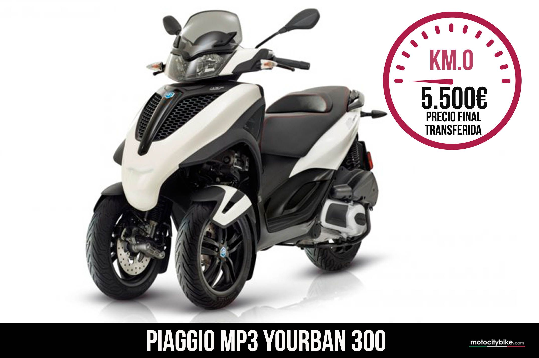 Piaggio Mp3 Yourban Blanco