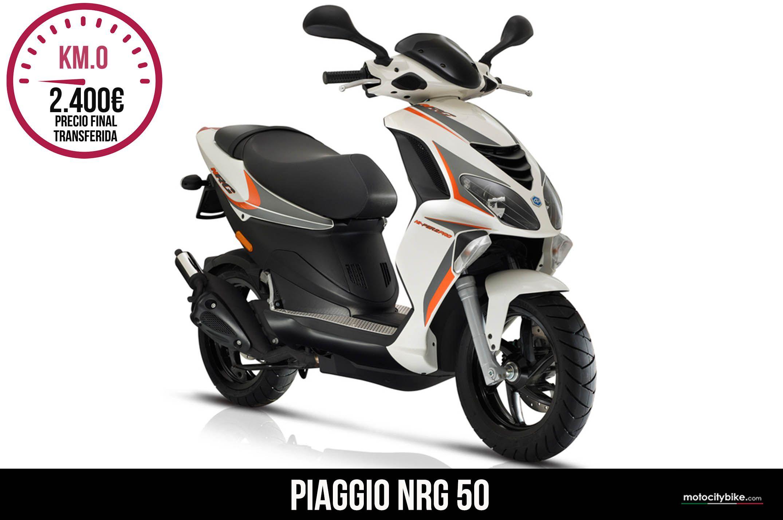 Piaggio nrg 50 blanco
