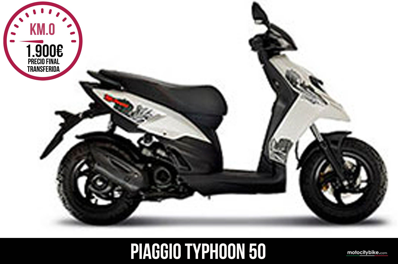 Piaggio Typhoon Blanco