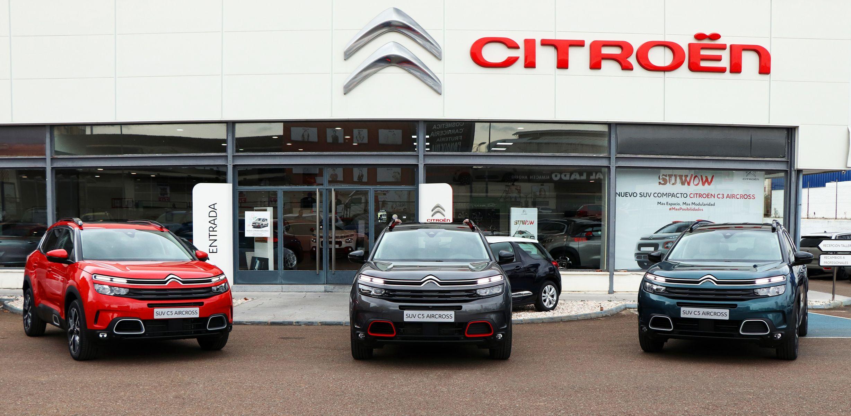 Damos la bienvenida en nuestras instalaciones al nuevo Citroën C5 Aircross