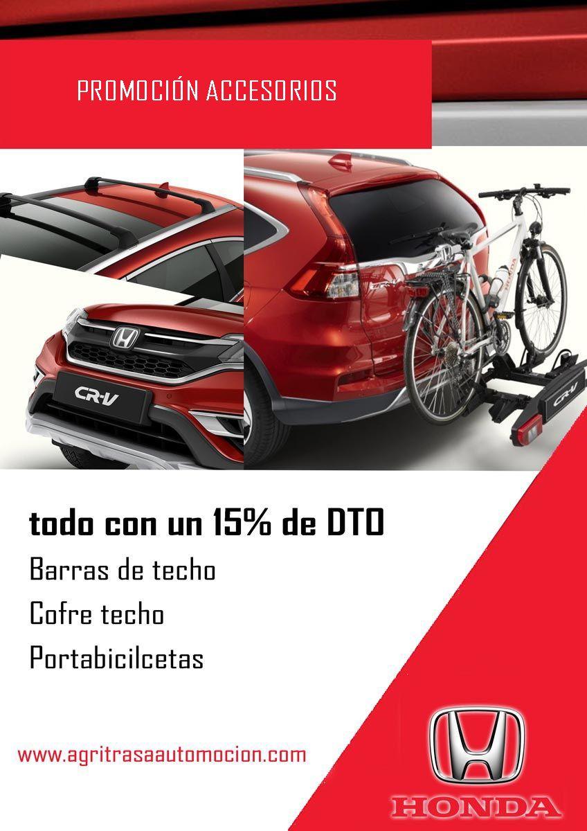 Promoción accesorios Honda