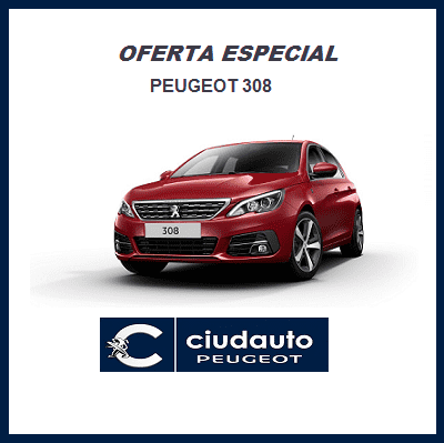 Peugeot 308 5P Allure BlueHDi 100 S&S 6 Vel. MAN €6.2 Rojo Ultimate