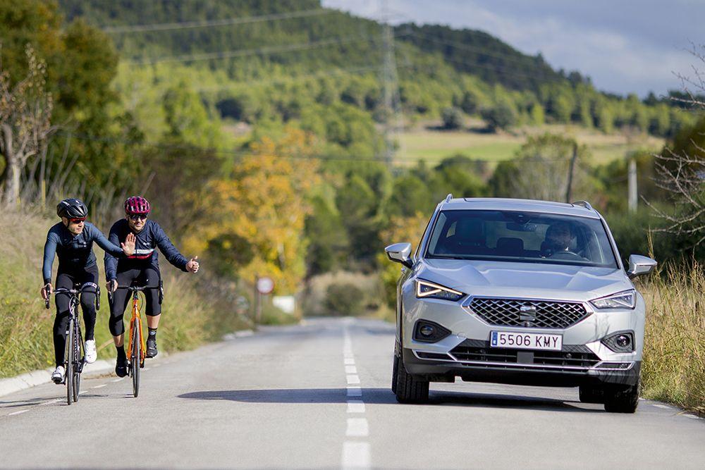 Nuevo SEAT Tarraco, preparado también para los ciclistas