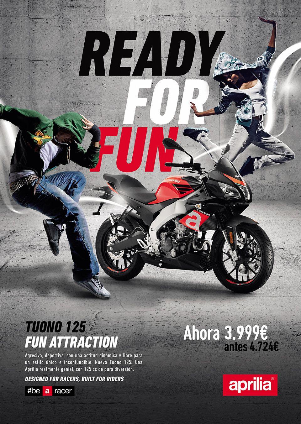 Una auténtica deportiva por sólo 3.999€ - Aprilia Tuono 125