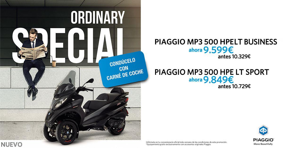 Descubre una forma nueva, segura y elegante de moverte con el Piaggio MP3 500 HPE