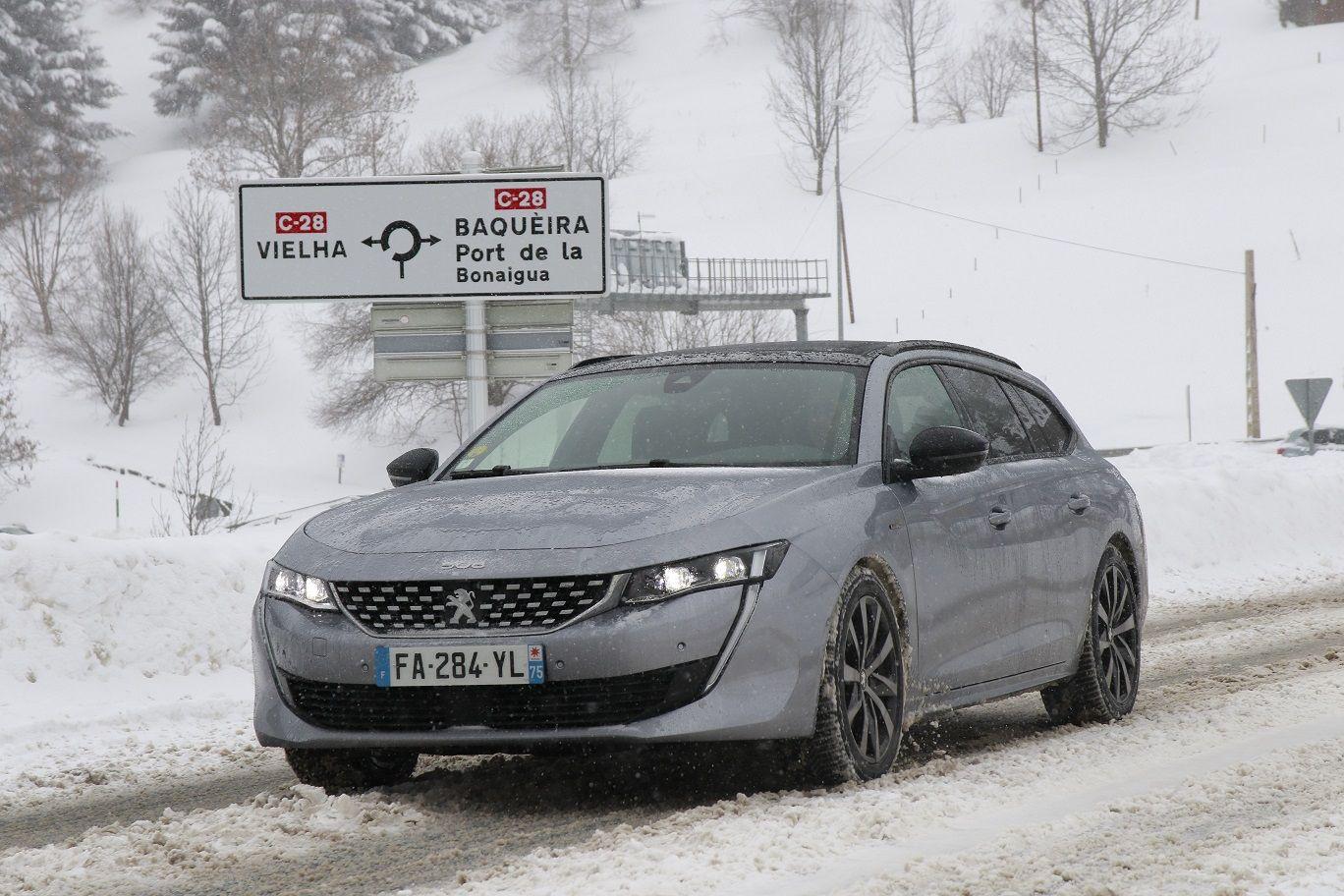 El nuevo Peugeot 508 SW, protagonista de la Winter Experience, pruebas que ponen al límite los lanzamientos de la Marca