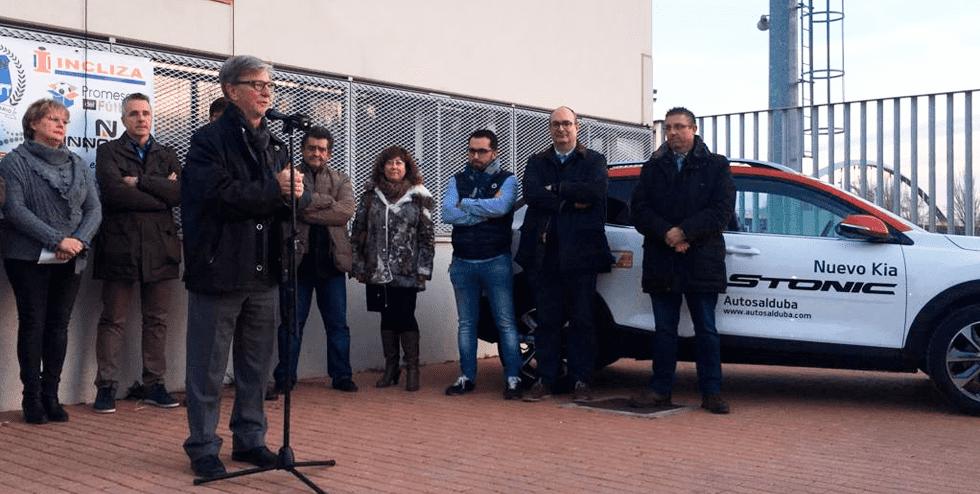 KIA Autosalduba celebra los 10 años del C.D. unión La Jota Vadorrey