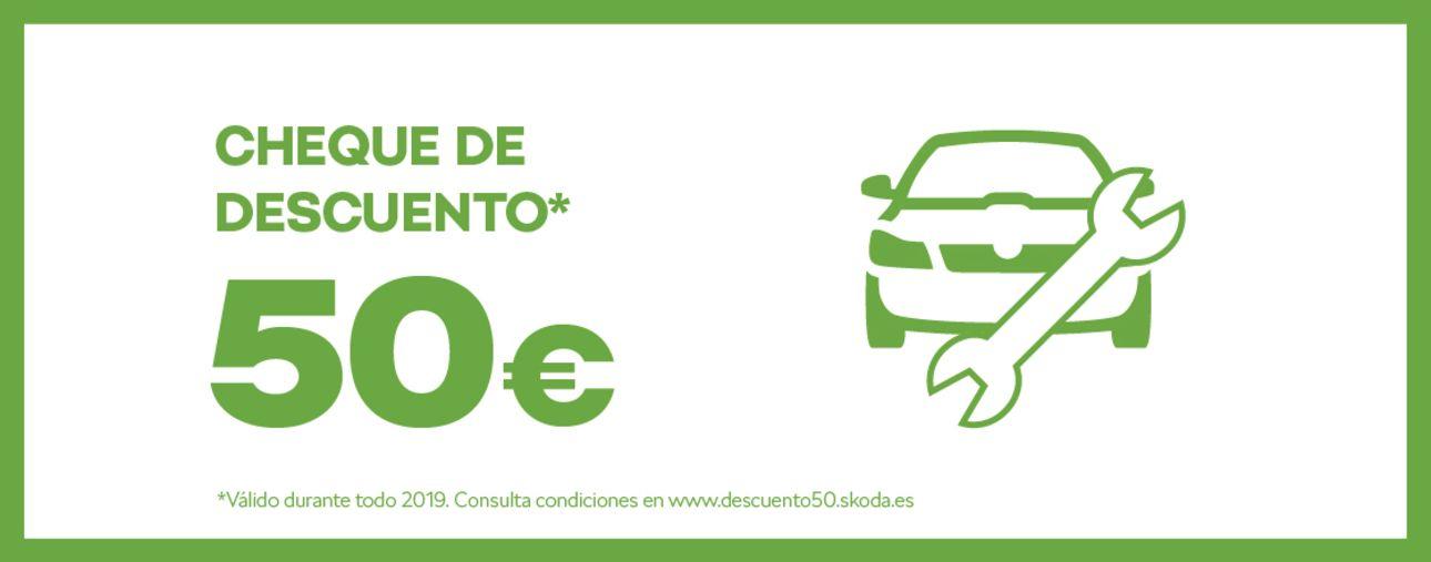 CHEQUE DE 50€