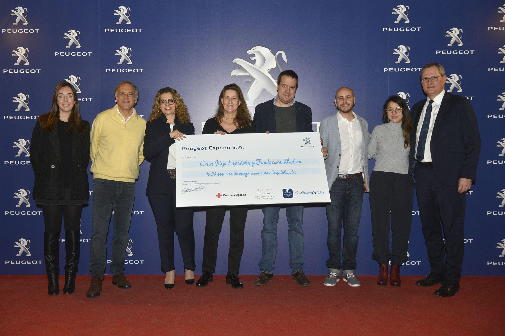 Las Revisiones Solidarias Peugeot recaudan 96.530 sesiones de apoyo para niños hospitalizados