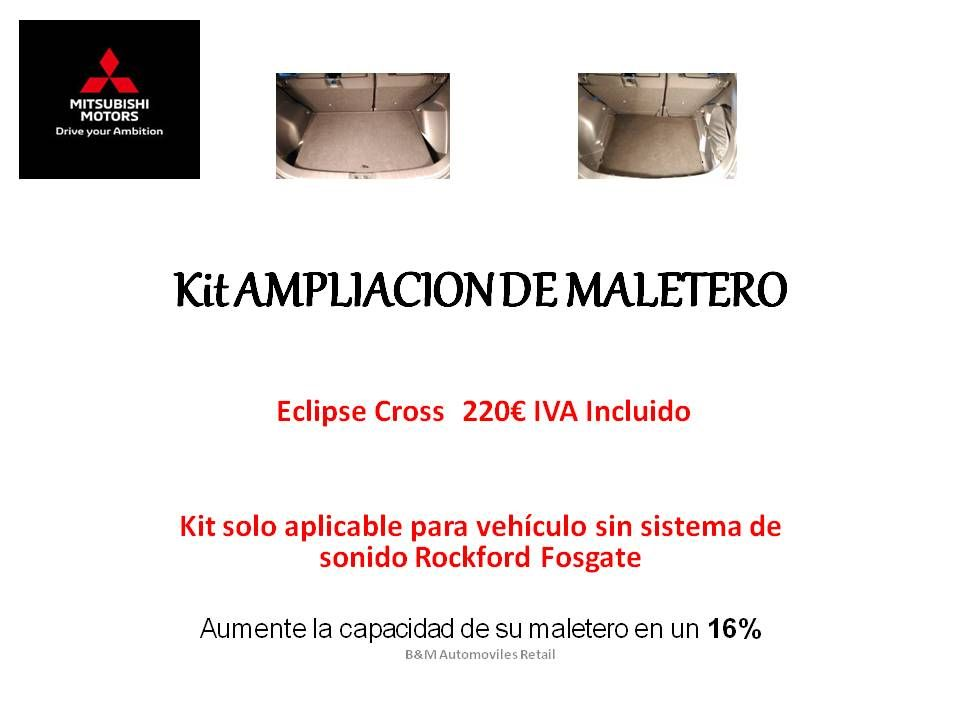 AMPLIACION DE MALETERO PARA TU ECLIPSE CROSS