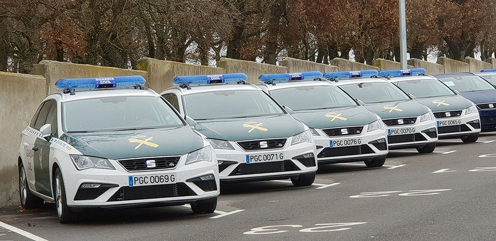 La Guardia Civil adquiere 249 unidades del SEAT León ST 2.0 TDI