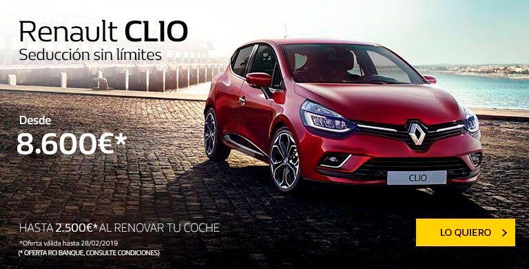 Renault CLIO hasta 28/02/2019