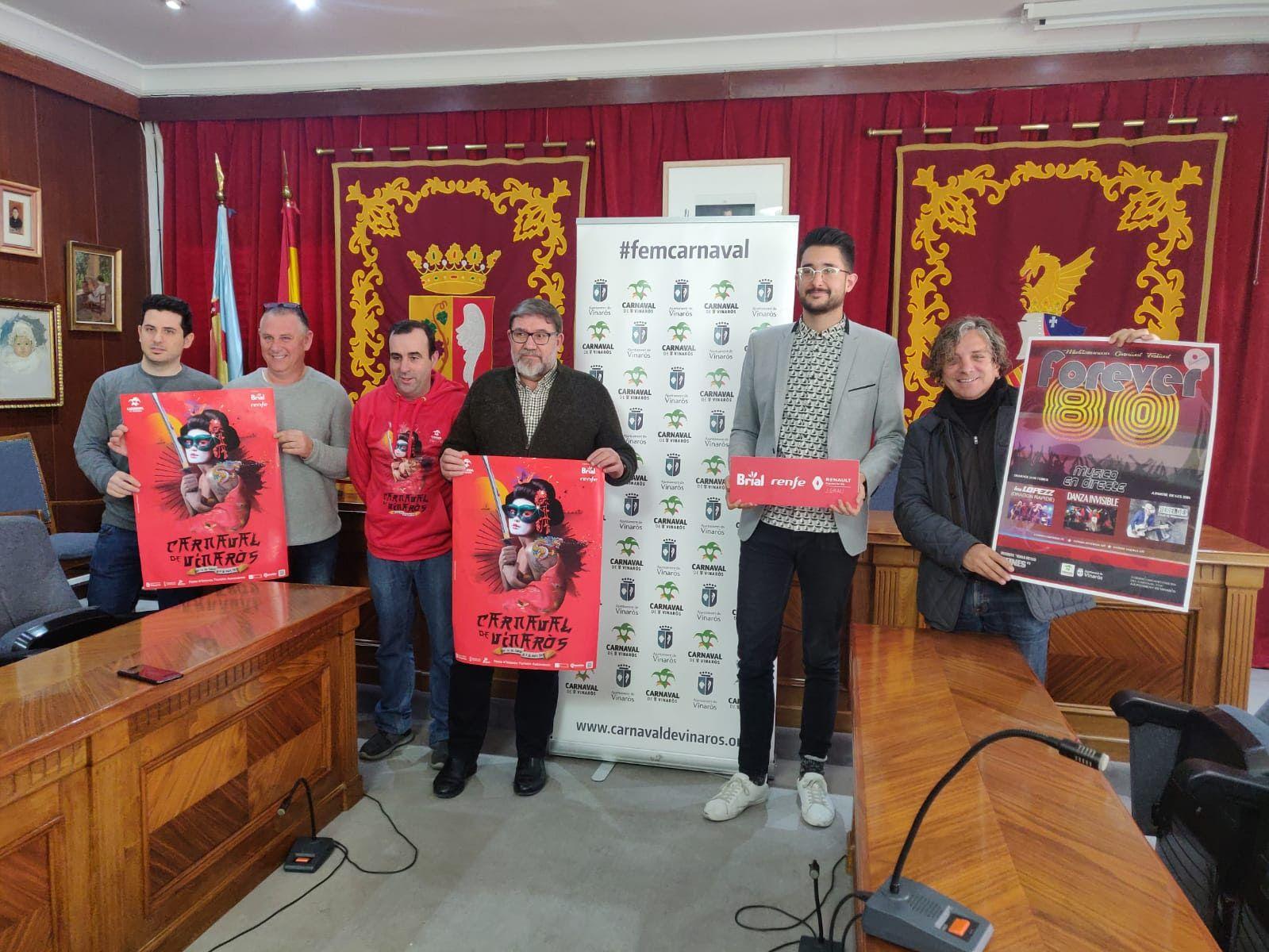 Vinaròs presenta el Carnaval Vinaròs 2019
