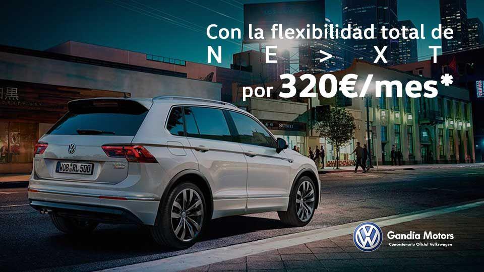 Volkswagen Tiguan, un palacio sobre la carretera por solo 320€/mes