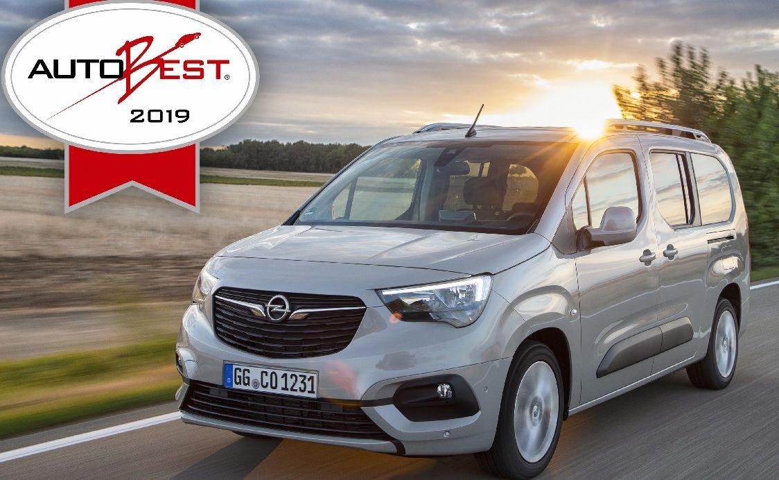 Gala AUTOBEST: el Opel Combo Life es la mejor compra de coche en Europa 2019